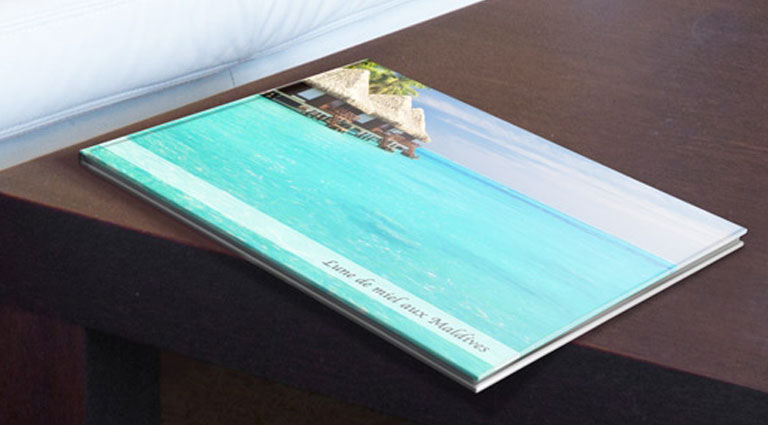 album photo sur les Maldives grand format