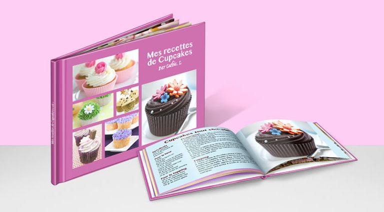 album de photos de recettes au format A5