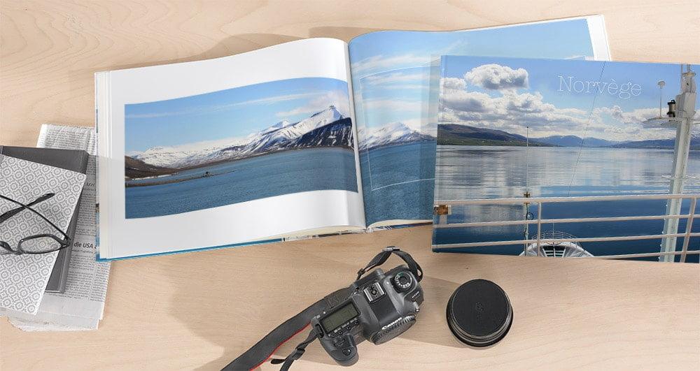 album photo de vacances personnalisé