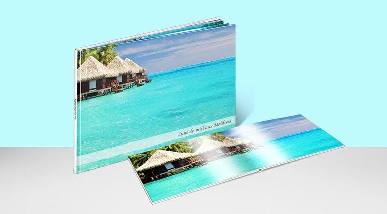 livre photo de vacances