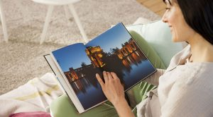 album photo de vacances au format A4 portrait