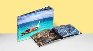 couverture et intérieur de l'album photo 15x11
